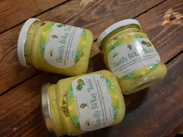 Foss Nati - Chantilly karite parfum basilic