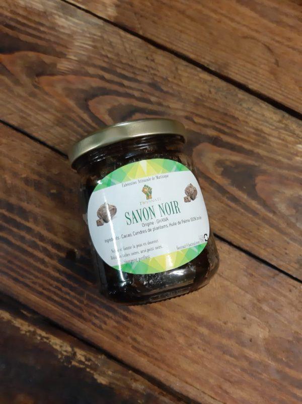 Foss Nati - Pot Savon Noir